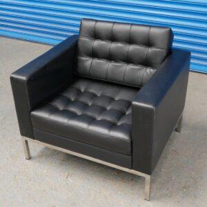 Black Monaco Armchair