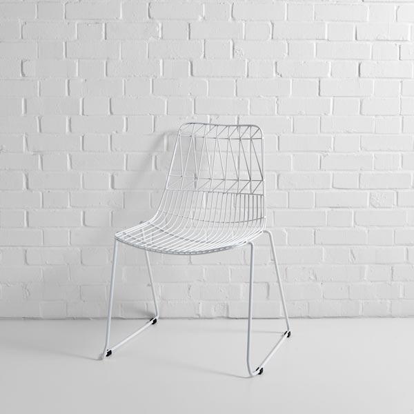 Designer Wire Chair